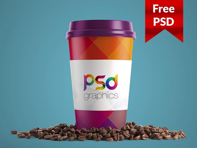 7df5111afeb2070da01156773b8ee3eb - Paper Coffee Cup Mockup PSD