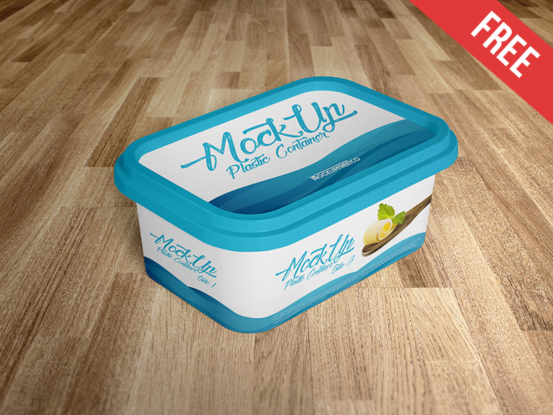 81052c90614b28f260d41a754ae03b9d - Plastic Container – 2 Free PSD Mockups