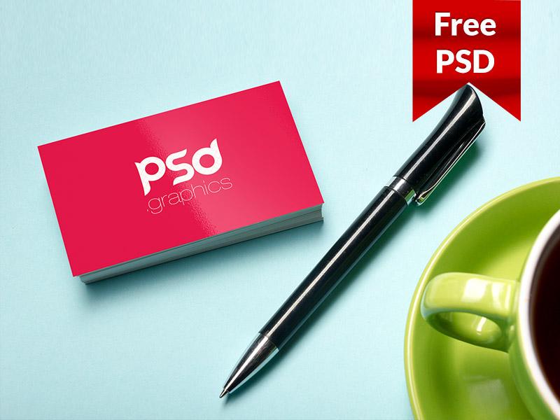 82833466a6f63e4f105a4ab3e6e81d45 - Professional Business Card Mockup PSD