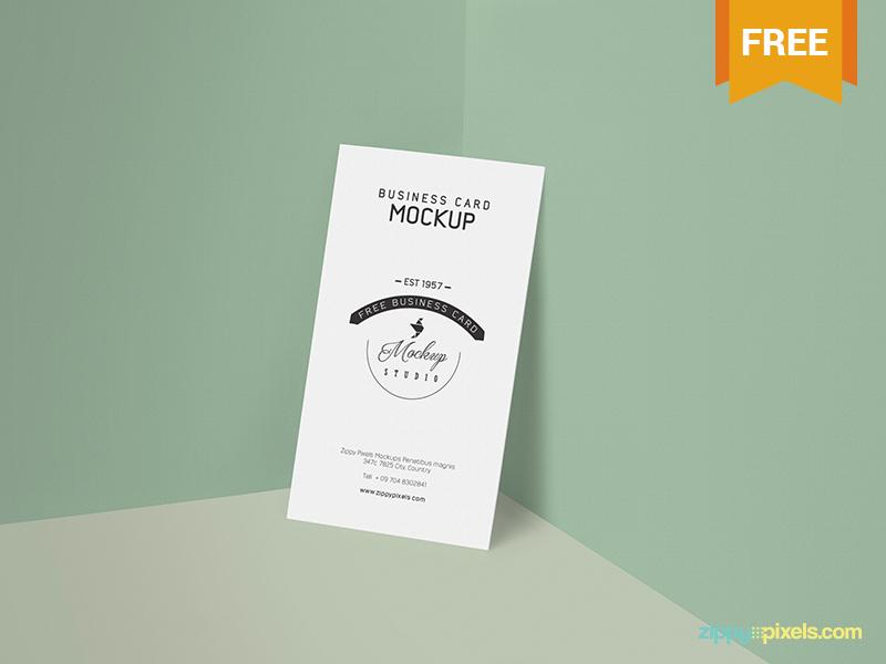 82b20f4541c4b876b982cc1cce5e1f55 - Free Business Card Mockup