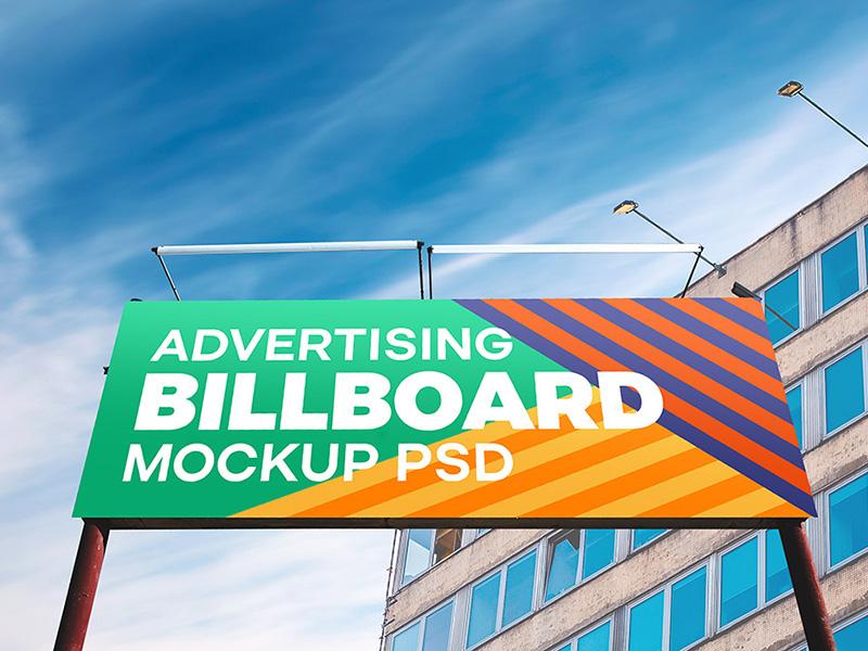 83141cca8a3ebc11b88b71e905cf7c98 - Outdoor Billboard Mockup PSD