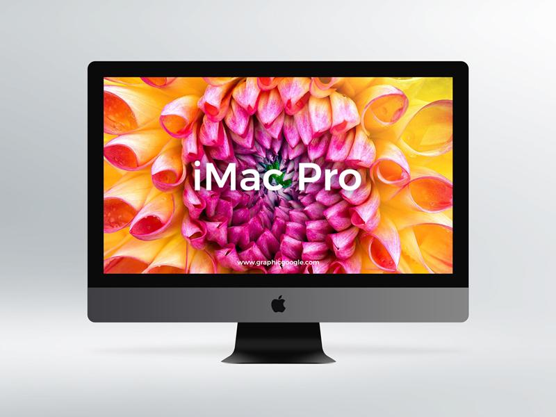 8450825068b2282544193164c3a6133a - Free iMac Pro Mockup PSD