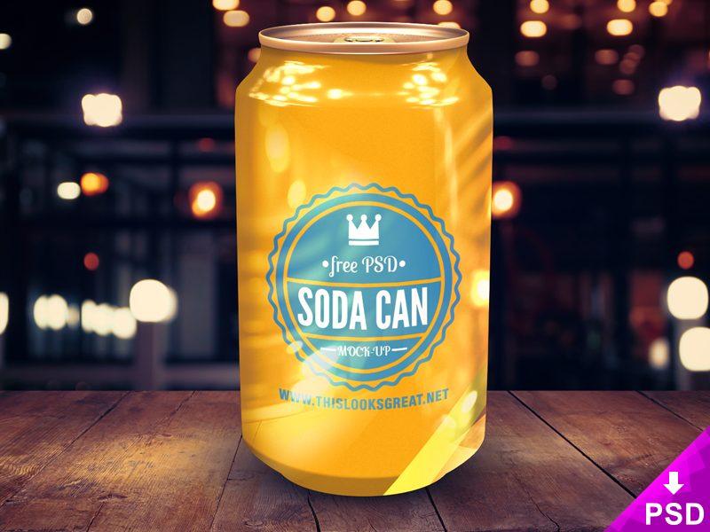 847f72b208700517e3d9e973a20085ac - Soda Can Mockup