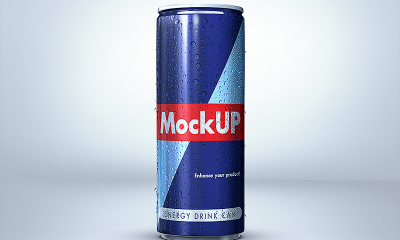 8716516dfd3d853927ab3a3c5930820b 400x240 - Energy Drink Can Mockup