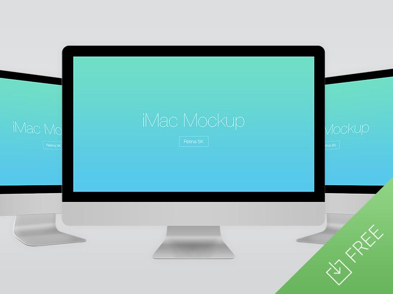 881ccdbaa113faa9d05eb3d966c53cf6 - Free iMac Retina 5K Mockup
