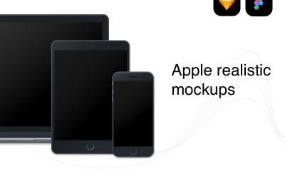 8a35c34a4cbb646a431425031ac1b7fd 400x240 - Apple devices realistic mockups [FREEBIE]