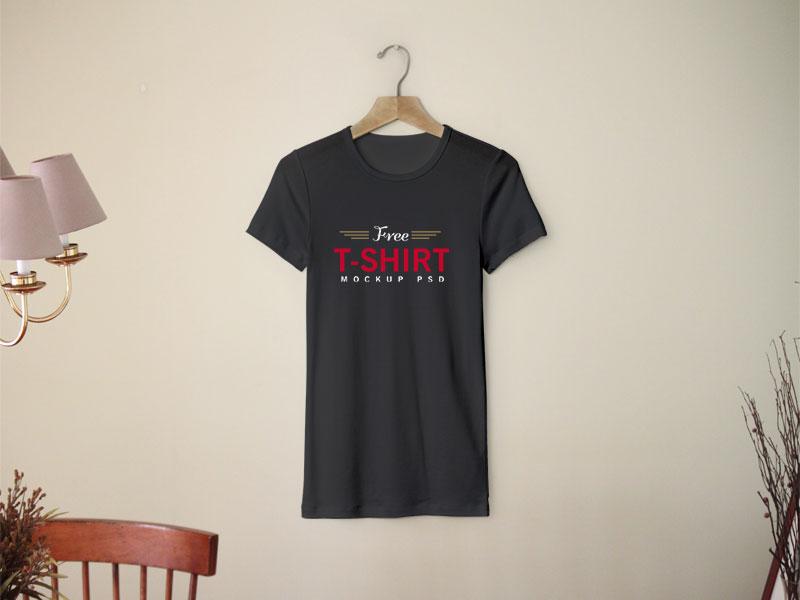 8b8023e6325897acc44b3017a06acaa0 - Free Half Sleeves T-Shirt Mockup PSD Template