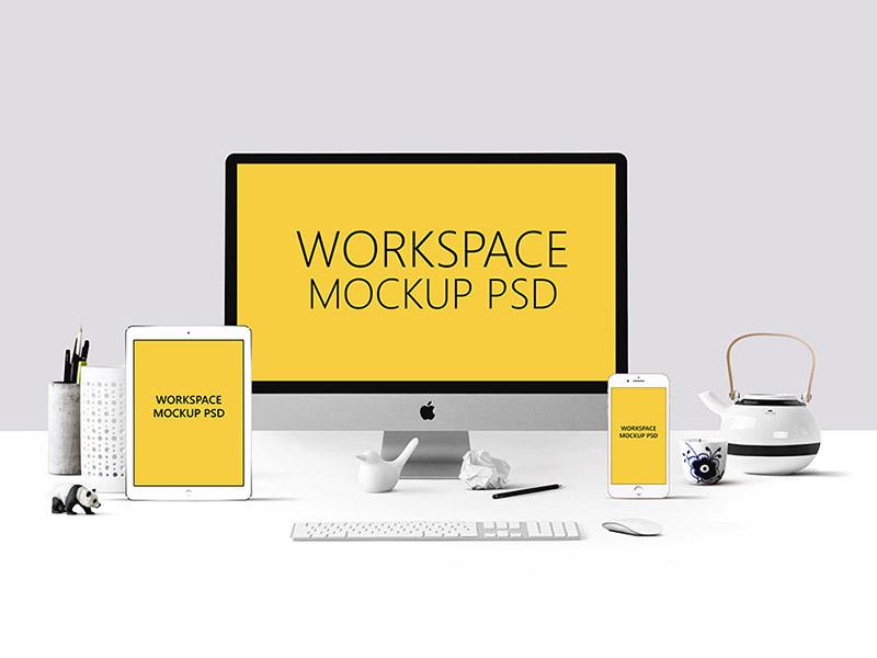 8e337ef005a0407543bc72b75db73336 - Workspace Mockup PSD