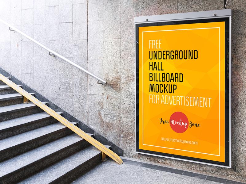 90cb178385092b13e0e3c5c30a2ed3e9 - Free Underground Hall Billboard Mockup For Advertisement