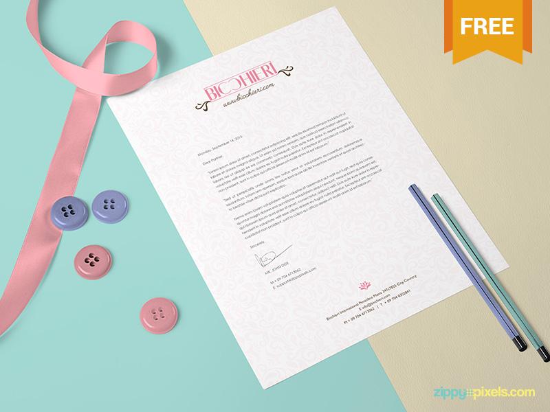 92d35ab5df60306367d6ce818debbeca - Free US Letter Size Paper Mock-Up