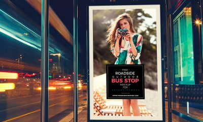 933325324fb1e421c31853324fd4b262 400x240 - Free Roadside Outdoor Bus Stop Billboard MockUp