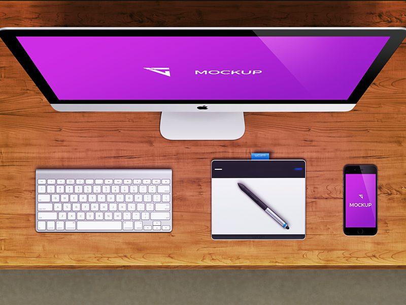 937389a0977089f495a3e36d4081c46b - Free iMac Mockup
