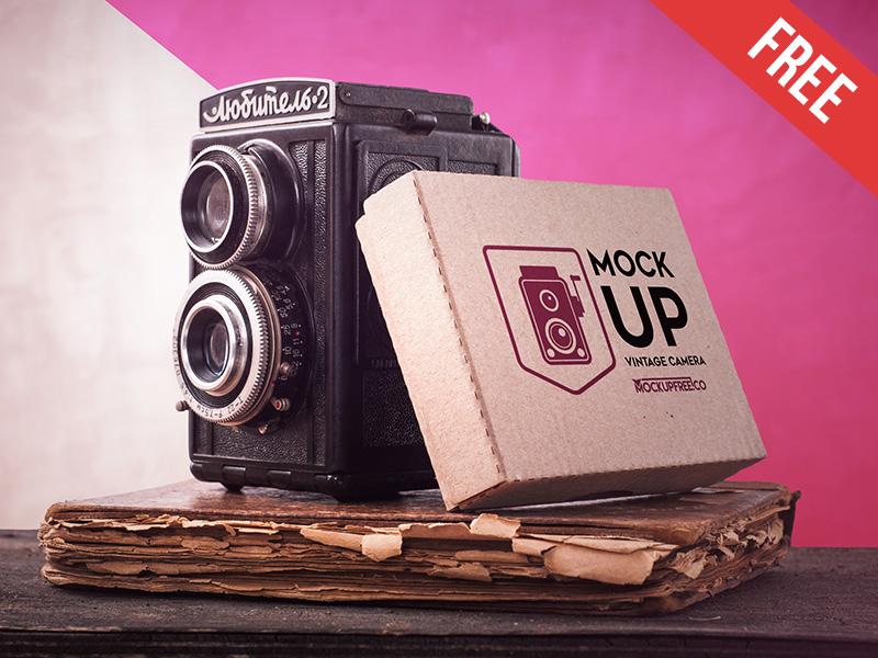 949c848cabefdb8d08fad241567bc9ec - Vintage Camera - Free PSD Mockup