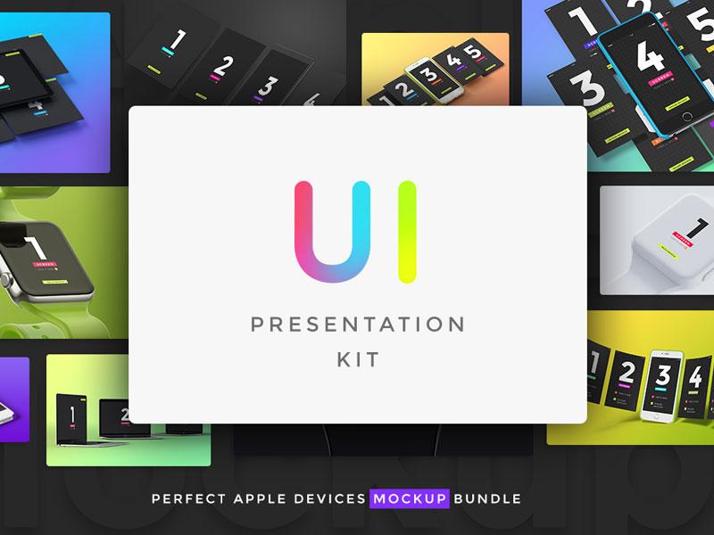 98444fe07f1afed23889eb5c5ee0ad8f - UI Presentation kit, Devices Mockups