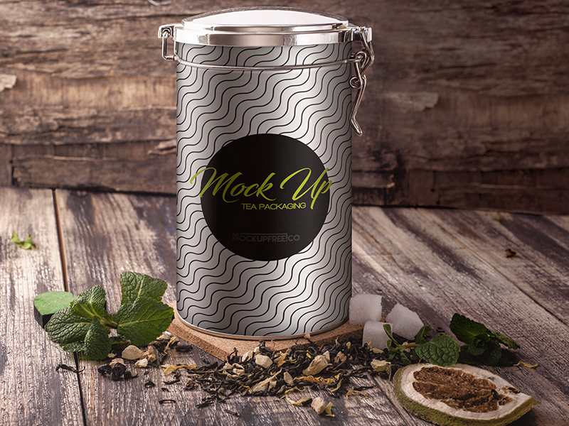 9a8e42310bd51aaf6fc0693f45b1345e - Tea Packaging – 17 Free PSD Mockups