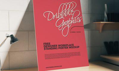 9b17334ca221b6ce9fcf8e552981813a 400x240 - Free Workplace Poster Mockup