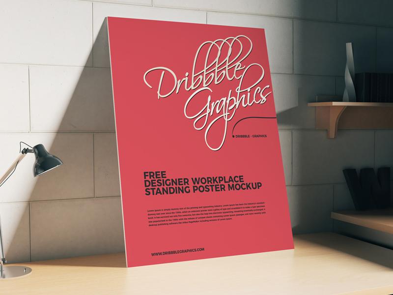 9b17334ca221b6ce9fcf8e552981813a - Free Workplace Poster Mockup