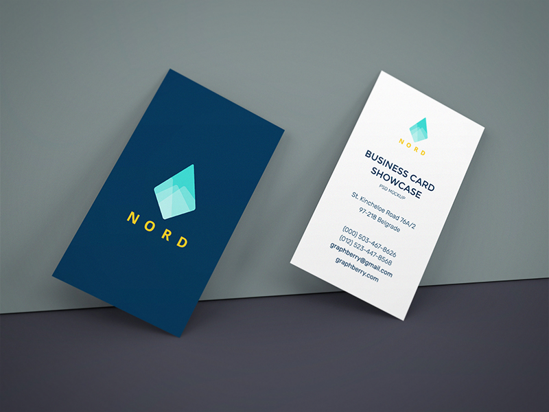9b690cbc4f75ff2113be41cf1afa2897 - Business Cards On Wall Mockup