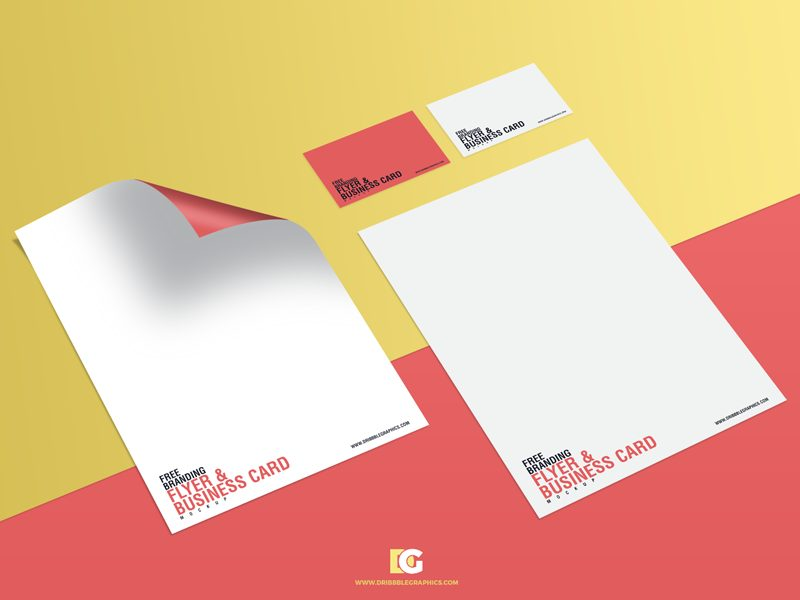 9bde540adc7bc8ca74486787d1451a1d - Free Branding Flyer & Business Card Mockup