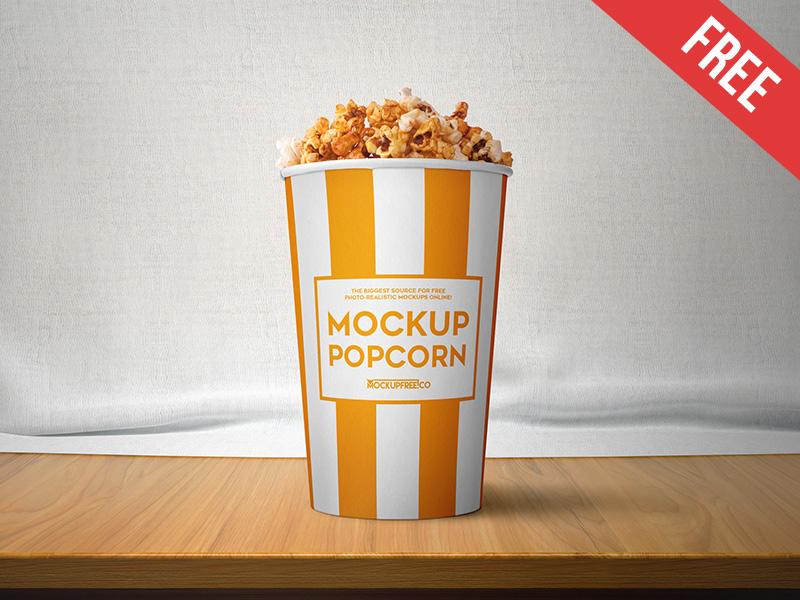a2790729620f76b00f74c3bc52fd5b0e - Popcorn – 2 Free PSD Mockups