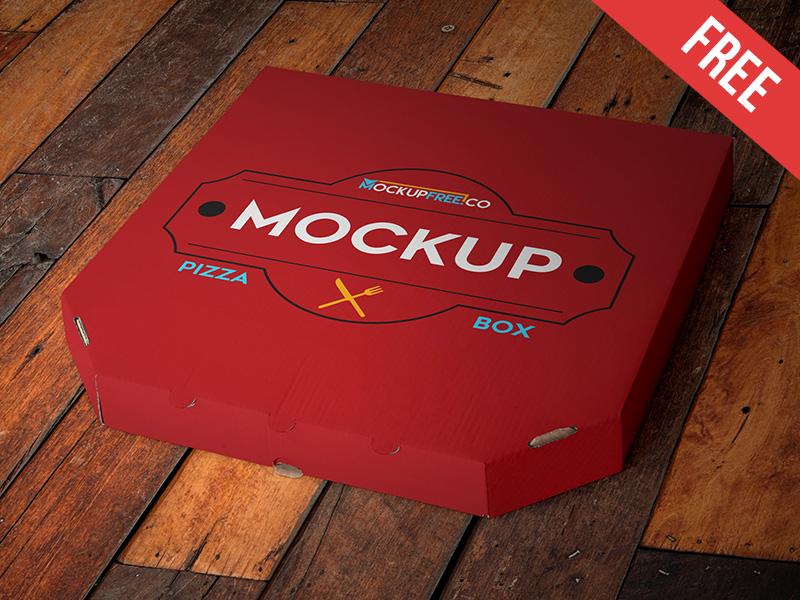 a35ff56f741929d88275d50853f355da - Pizza Box - Free PSD Mockup