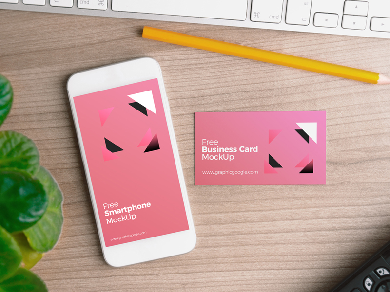 a3ad714f506fec489c52b07ced2f6439 - Free Smartphone with Business Card MockUp PSD