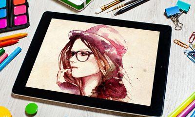 a3c44fec31b97f6a6d9f19b2d9df2e8c 400x240 - Free Artist Tablet Mockup