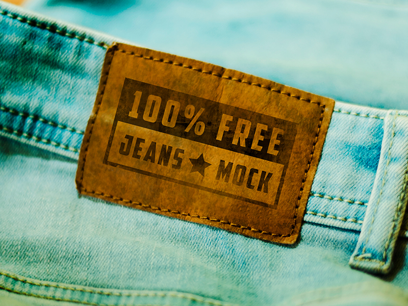 a3dda375e86db8df60a506d0c1bcdf14 1 - FREE Mock-up! Jeans Tag