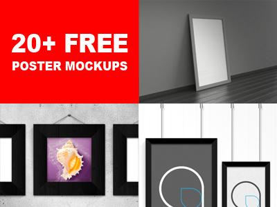 a406b2334399a0bc75d3a561b0289220 - 20+ Free Poster Mockups