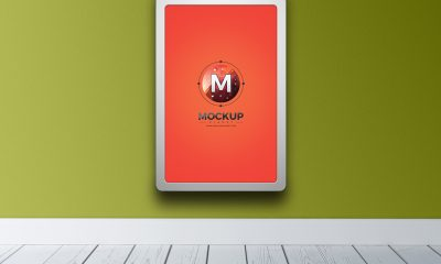a43ffe80d531c72870598021496bbe00 400x240 - Free Indoor Vertical Advertising Billboard Mockup PSD