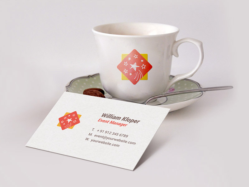 a6fd9eef37a9f9ed981ca2547841dac3 - Business Card & Coffee Cup Scene Mockup
