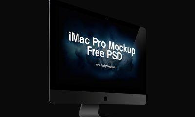 a89f5369fbe0d309d6ca666fb0d72c43 400x240 - iMac Pro Free PSD Vol. 2