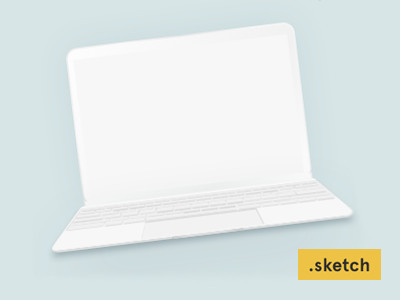 a9b47ba283093db740bd93422deafa3d - Freebie: the new MacBook minimalist mockup