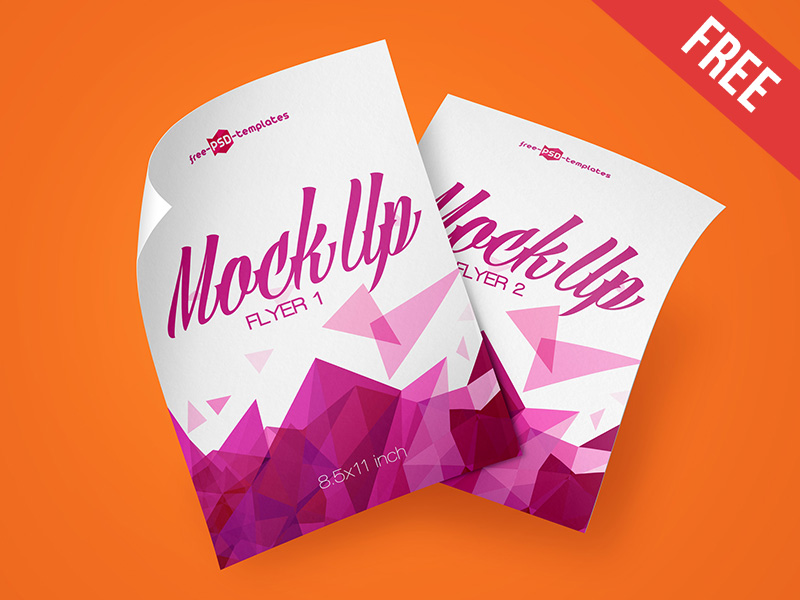 abae76303258594462595d26dfbd9aaa - 3 Free Flyer Mock-ups in PSD