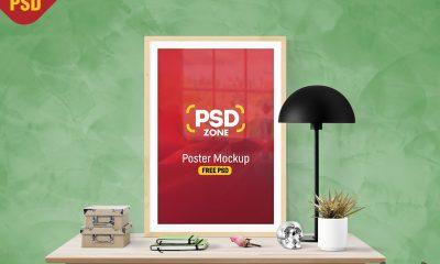 ac56c62b5182a23657cad6c6c332b6c6 400x240 - Poster Frame Mockup Free PSD