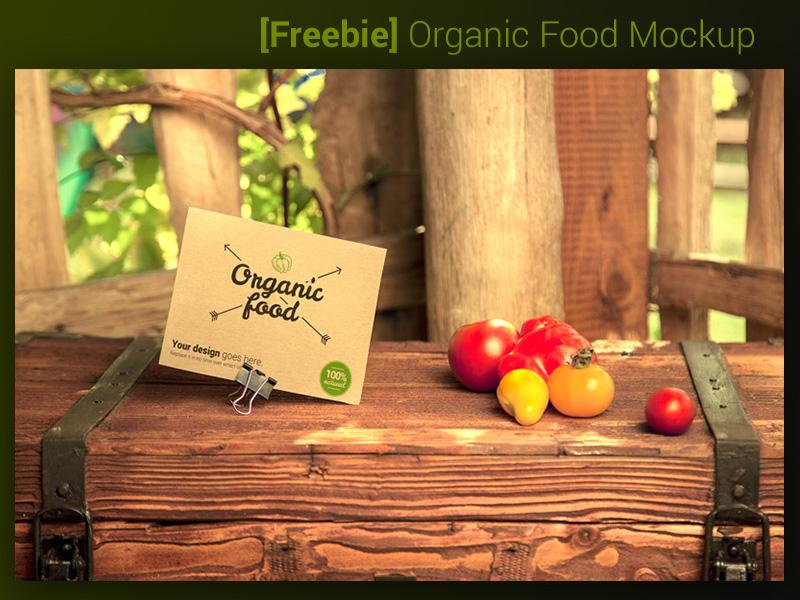 afccf928583f0d86f1292b4f5d56bb4b - [Freebie] Organic Food Mockup - vegetables