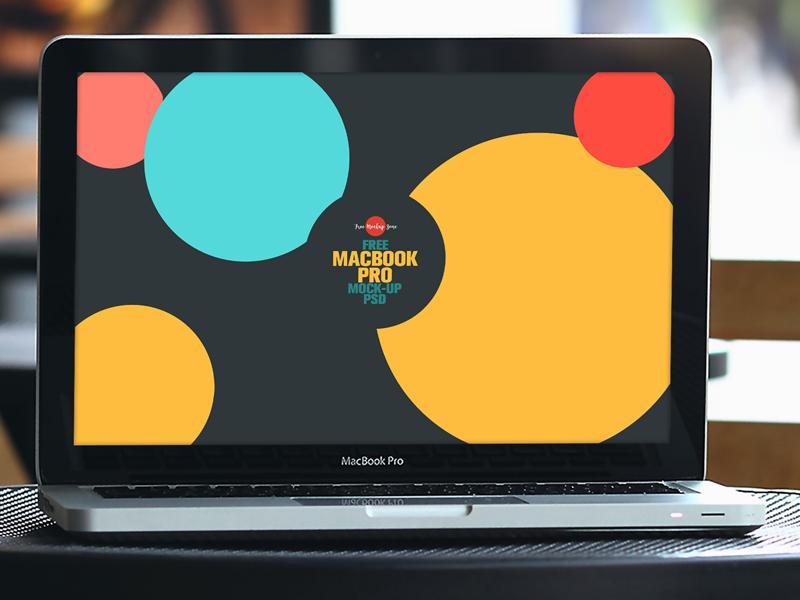 b072eff2813856dd0652b37c42a7bab4 - Free MacBook Pro Mock-up Psd
