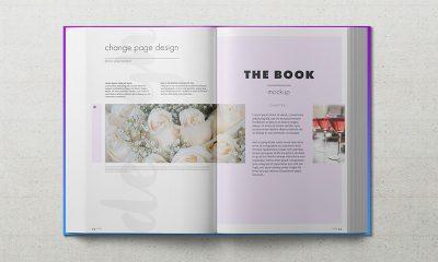 b24ee870bfe9119ee51a63777b0148b5 400x240 - Freebie: Hardback Book Mockup Vol. 2