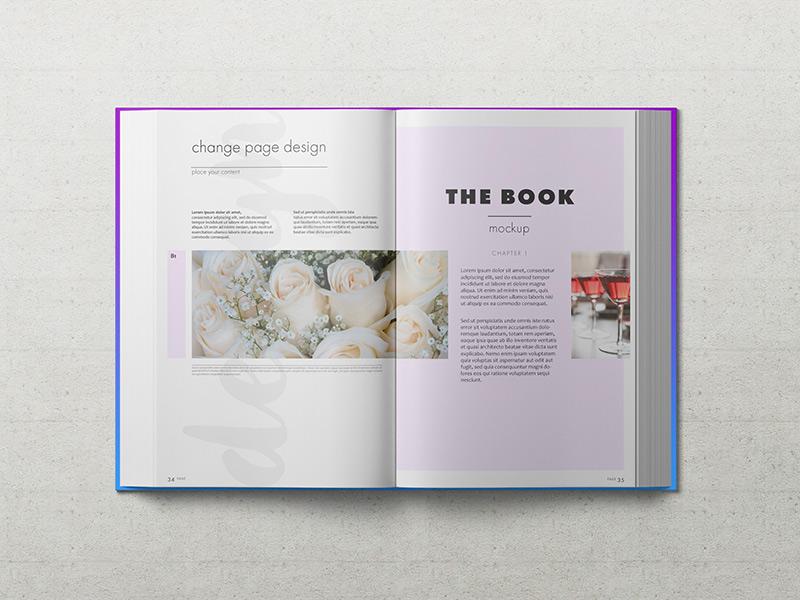 b24ee870bfe9119ee51a63777b0148b5 - Freebie: Hardback Book Mockup Vol. 2