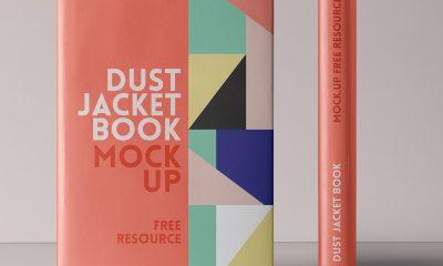 b2f15e8295c4ee48f18ade33cb8f06c7 400x240 - Free Psd Dust Jacket Book Mockup