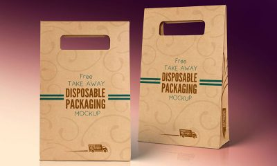 b4e246e4c3ff16e584792bd2db31db42 400x240 - Free Kraft Paper Disposable Food Bag Packaging Mockup PSD