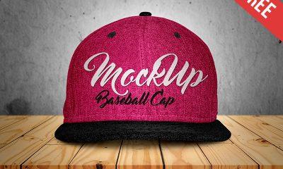b5bdd8cbe249c256b71d144281a58e75 1 400x240 - Free Baseball Cap Mock-up in PSD