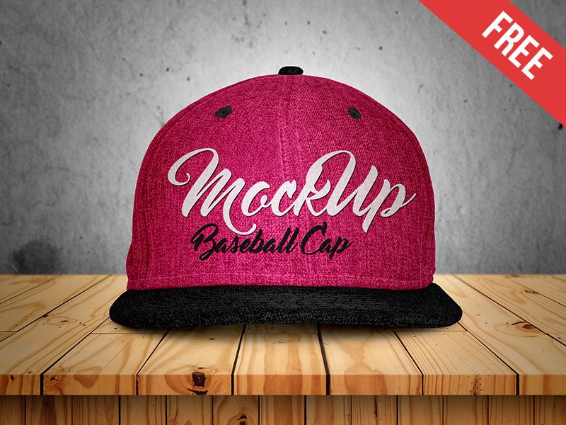 b5bdd8cbe249c256b71d144281a58e75 1 - Free Baseball Cap Mock-up in PSD