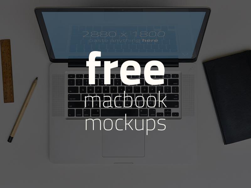 b64f6c54c8ecc19ed4218b38b548e444 - FREE 3 Macbook Mockups!