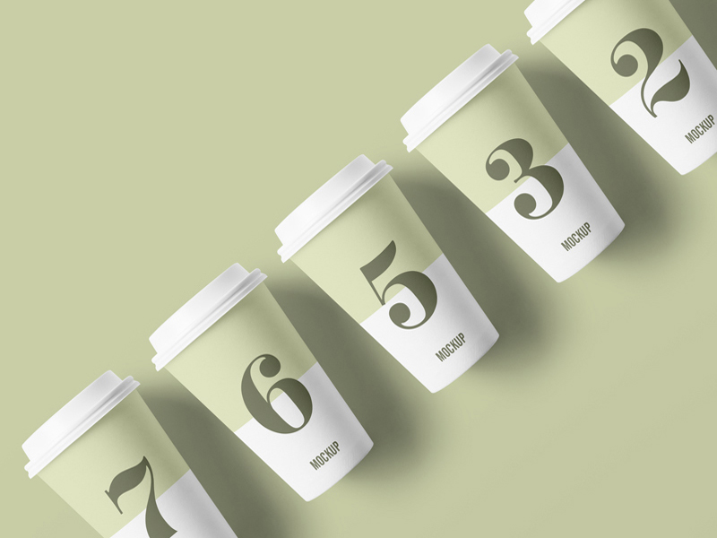 b6ba6850e6854f284f22a0c247d3dd34 - Free Packaging Paper Cup Mockup