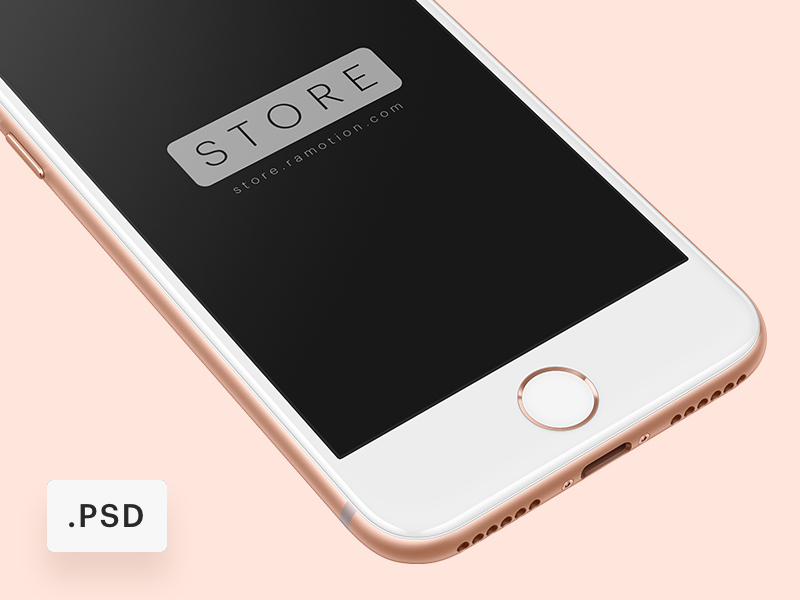 b77927cd1ba2282acdbbb7bb249e3d98 - iPhone 8 Free Mockup [PSD]