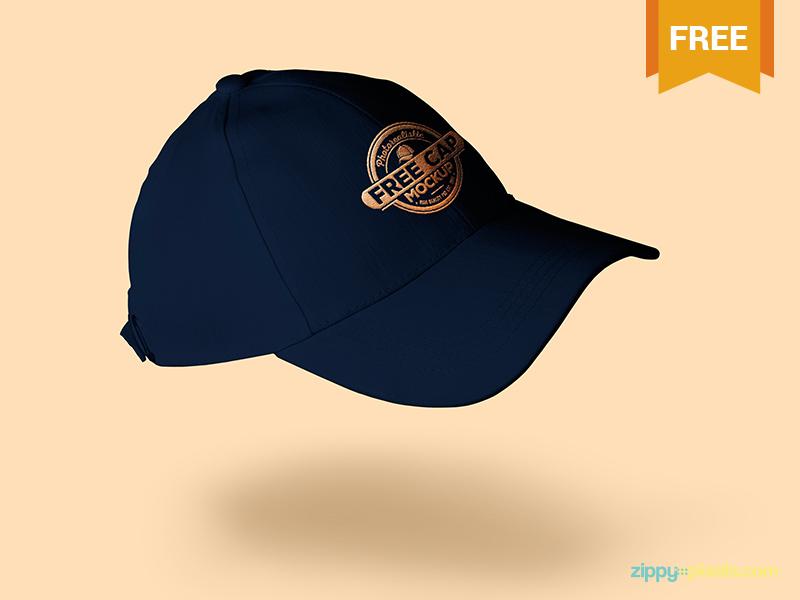 b7ef40a7289f741658b4c98762c05576 1 - Free Baseball Cap Mockup