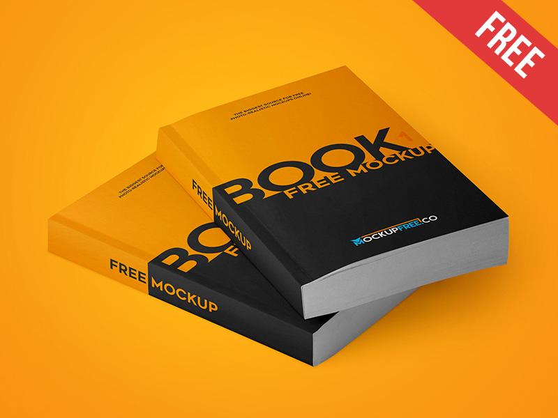 b9442659b8fd973b1f61aa497e577f3a - Paperback Book - 2 Free PSD Mockups