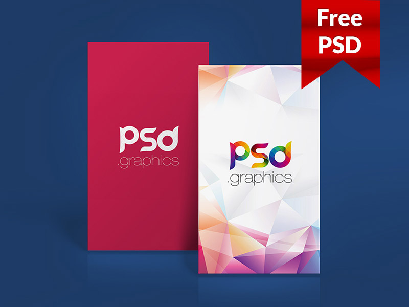 bc10956967bccf3d000d8ad479bf523d - Vertical Business Card Mockup Free PSD