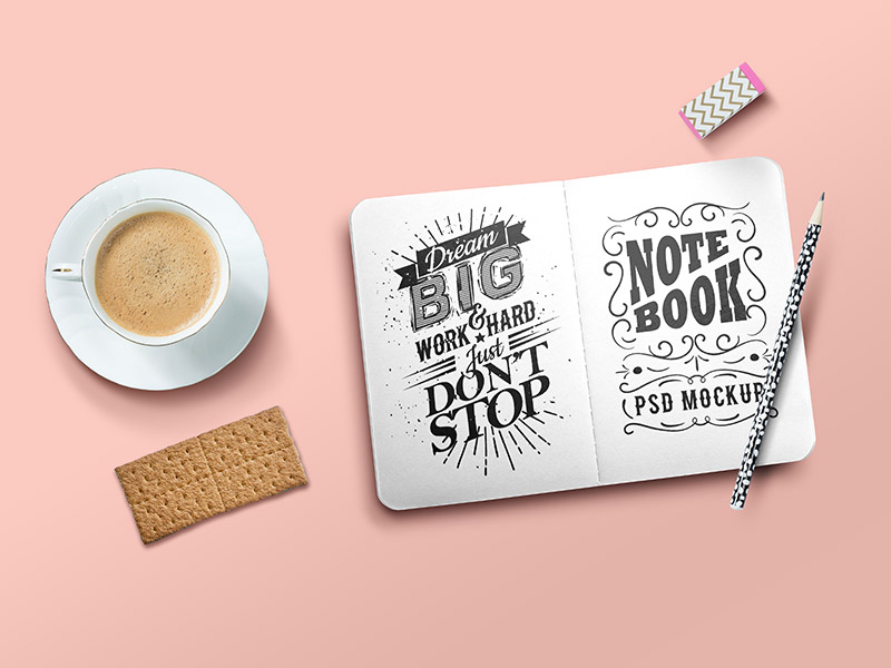 bcbff9f5044ad42ad71f0ae52ed7892b - Sketchbook Mockup PSD Template
